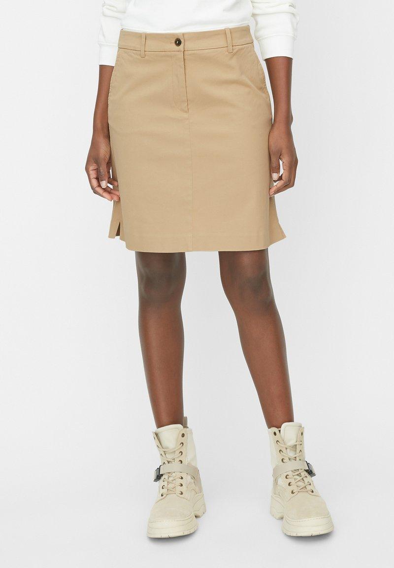 Marc O'Polo - A-line skirt - beige