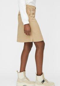 Marc O'Polo - A-line skirt - beige - 3