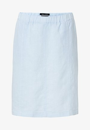 A-line skirt - light blue