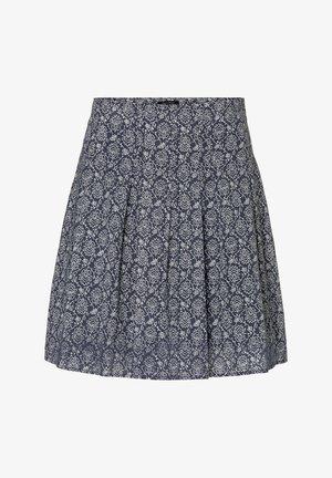 A-line skirt - multi/silent sea