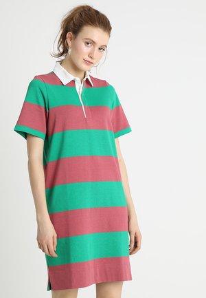 DRESS RUGBY STYLE TWILL - Vestito di maglina - combo