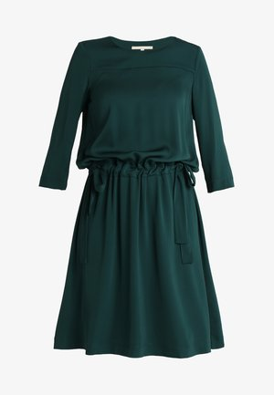 DRESS LOOSE SILHOUETTE GATHERED - Kjole - forrest shade