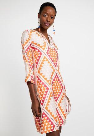 DRESS TUNIQUE STYLE GRAPHICAL CUT - Vestito estivo - combo