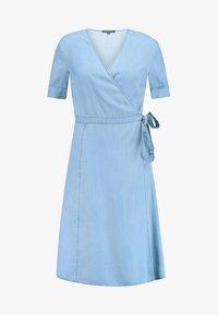 Marc O'Polo - DRESS WRAP STYLE WITH BELT - Denimové šaty - tencel denim - 5