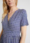Marc O'Polo - DRESS WITH WRAP DETAIL - Freizeitkleid - blue