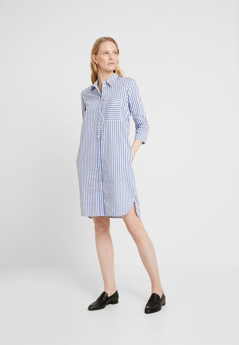 Marc O'Polo - DRESS STYLE STRIPED DESSIN - Košilové šaty - combo
