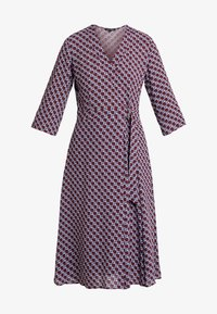 Marc O'Polo - DRESS WRAP STYLESLEEVE - Vestito estivo - bordeaux - 4