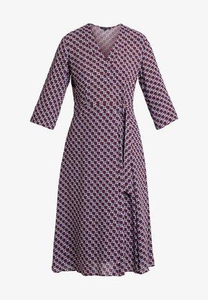 DRESS WRAP STYLESLEEVE - Robe d'été - bordeaux