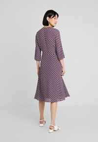 Marc O'Polo - DRESS WRAP STYLESLEEVE - Vestito estivo - bordeaux - 2
