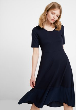 DRESS LONG - Vestito di maglina - midnight blue