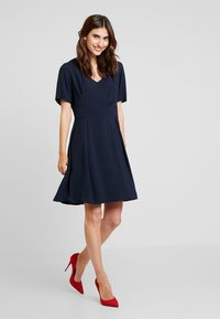 Marc O'Polo - DRESS FEMININE STYLE - Day dress - midnight blue - 1