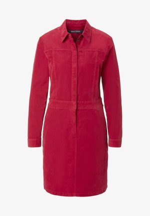 CORDUROY STYLE - Shirt dress - red