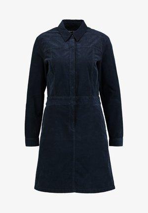 CORDUROY STYLE - Shirt dress - midnight blue