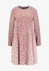 Marc O'Polo - DRESS FEMININE FLARED SHAPE LONG - Korte jurk - red - 3