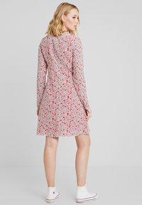 Marc O'Polo - DRESS FEMININE FLARED SHAPE LONG - Korte jurk - red - 2