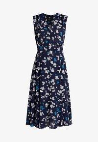Marc O'Polo - DRESS FEMININE SHAPE FLARED - Korte jurk - dark blue - 3
