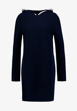 DRESS LONGSLEEVE - Strikket kjole - midnight blue