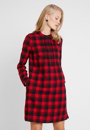 DRESS SHIRT STYLE DETAILED PLACKET COLLARSTAND - Kjole - combo