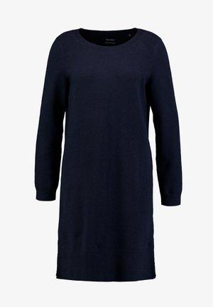 Strikket kjole - midnight blue