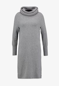 Marc O'Polo - HEAVY DRESS LONGSLEEVE - Strikket kjole - middle stone melange - 4