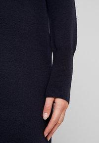 Marc O'Polo - HEAVY DRESS LONGSLEEVE - Jumper dress - midnight blue - 6