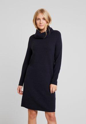 HEAVY DRESS LONGSLEEVE - Jumper dress - midnight blue