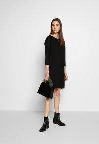 Marc O'Polo - STRAIGHT - Jersey dress - black - 1