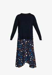 Marc O'Polo - DRESS LONGSLEEVE  PATCHED WITH PRINTED - Day dress - multi/night sky - 4