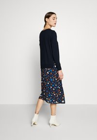 Marc O'Polo - DRESS LONGSLEEVE  PATCHED WITH PRINTED - Day dress - multi/night sky - 2