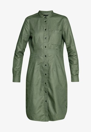 Shirt dress - clear fern