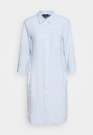 DRESS TUNIQUE COLLAR WELT POCKETS SIDE SLITS - Shirt dress - sky breeze
