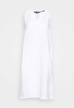 DRESS EASY STRAP STYLE DETAILED NECKLINE SUMMER LINE - Kjole - white