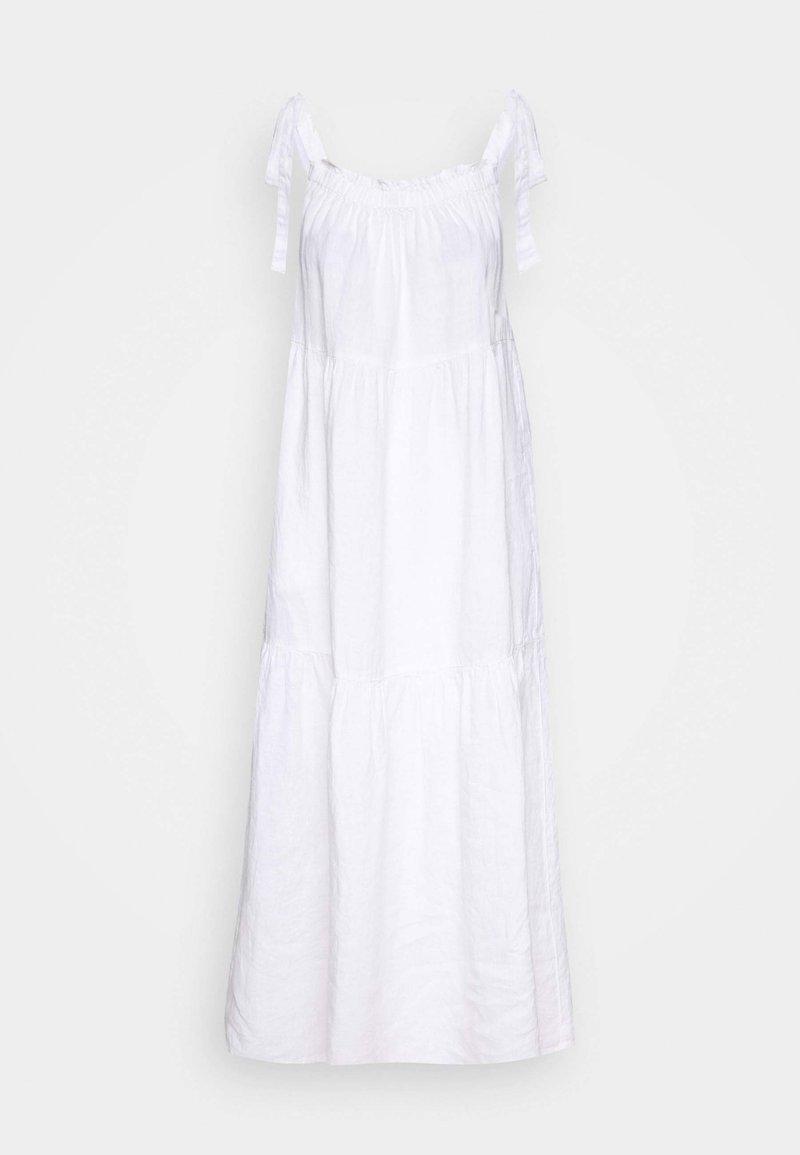 Marc O'Polo - DRESS HIGH SUMMER STYLE SHOULDER STRAPS - Maxi dress - white