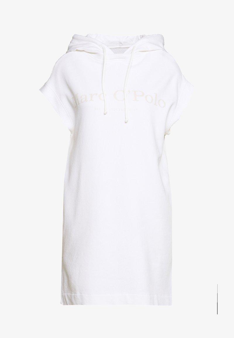 Marc O'Polo - DRESS SLEEVELESS HOODED - Day dress - dove white