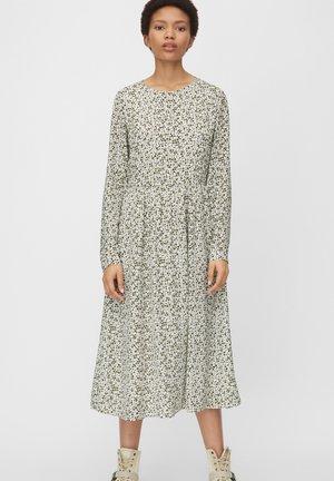 Day dress - white, green