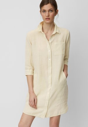 Shirt dress - feather grey