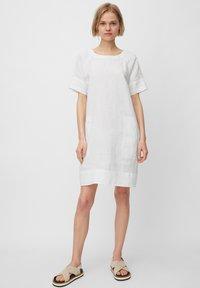 Marc O'Polo - Day dress - white - 1