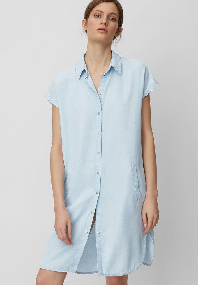 Sukienka jeansowa - tencel bleach wash