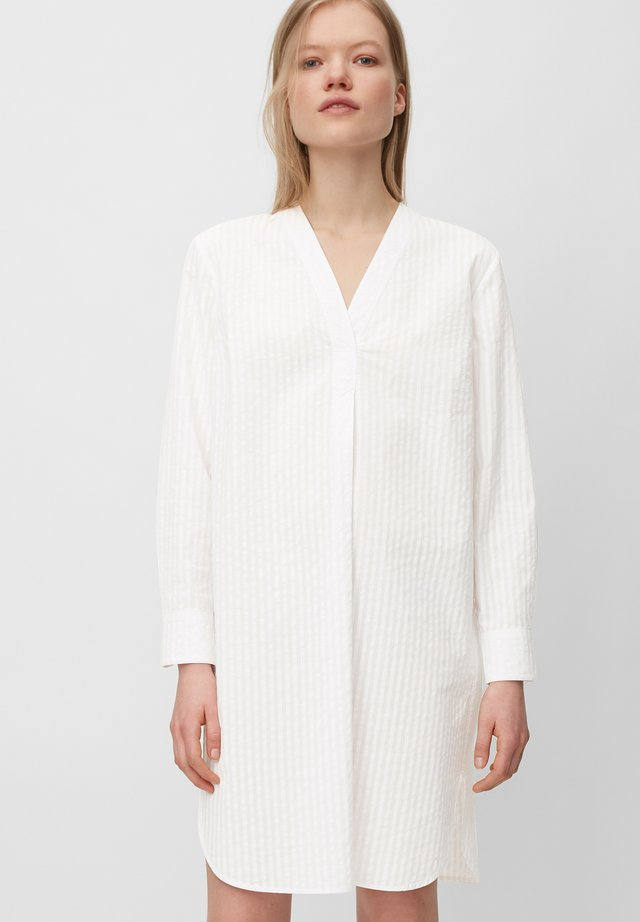 Korte jurk - multi/white