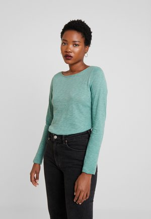 BOAT NECK - Long sleeved top - sea green