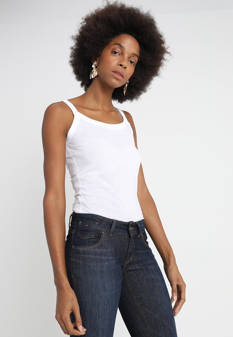 Marc O'Polo - SLEEVELESS - Top - white