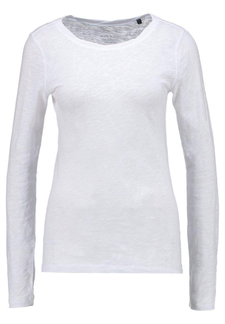 Marc O'Polo LONGSLEEVE - Maglietta a manica lunga - white