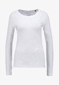 Marc O'Polo - LONGSLEEVE - Long sleeved top - white - 4