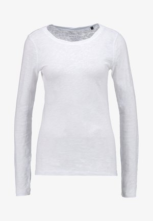 LONGSLEEVE - Top sdlouhým rukávem - white