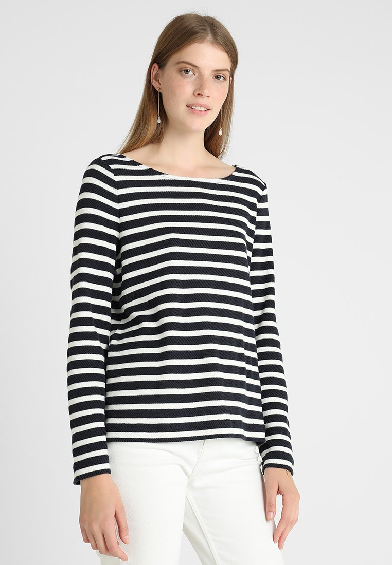 Marc O'Polo - LONG SLEEVE STRUCTURED - Strickpullover - combo
