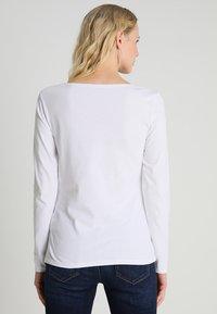 Marc O'Polo - LONG SLEEVE BOAT-NECK - Camiseta de manga larga - white - 2