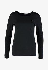 Marc O'Polo - LONG SLEEVE BOAT-NECK - Camiseta de manga larga - black - 3