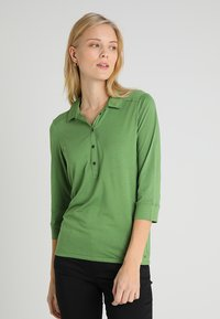 Marc O'Polo - PLACKET COLLAR - Poloshirt - green clover - 0