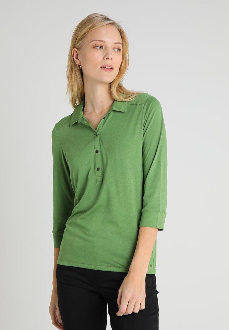 Marc O'Polo - PLACKET COLLAR - Poloshirt - green clover