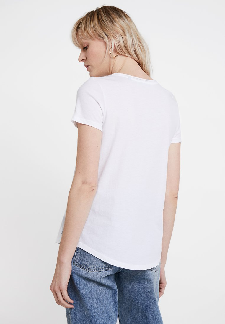 Marc O'Polo - SHORT SLEEVE  - T-Shirt basic - white